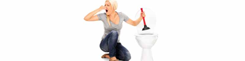 My toilet is clogged, what to do?