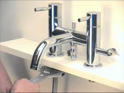 mixer-installation-in-bathroom