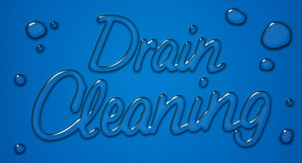 Drain cleaning by flotation